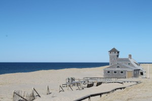 Old Harbor Lifesaving Station at Cape Cod National Seashore.