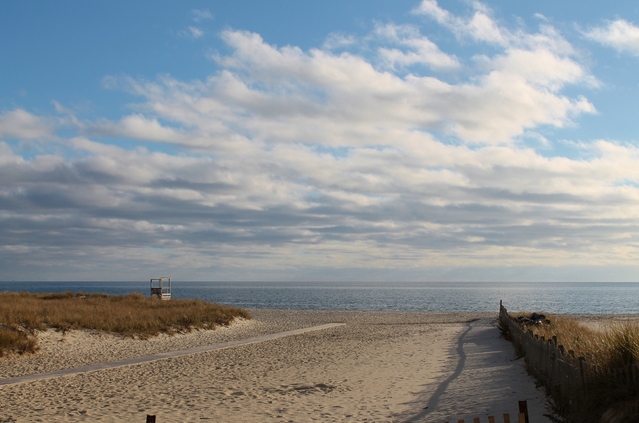 fall beach cape cod