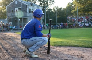 The Chatham Anglers take on the Harwich Mariners at Whitehouse Field. Photo courtesy of Chatham Anglers.