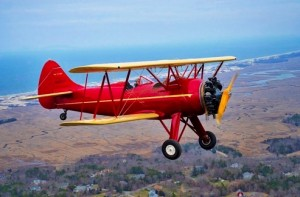 P-town Air Tour's vintage plane. Photo via website.