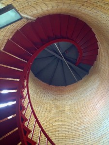 Climb the stairs at Highland Light for an epic view.