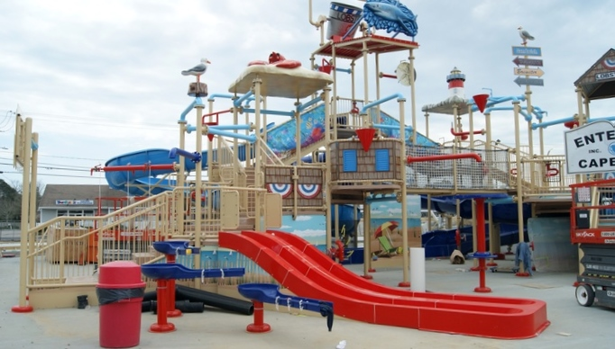 Cape Cod Inflatable Park: Photo via website.